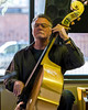 """Images taken at 210 during the weekly Saturday morning """"Cup of Jazz"""" session."""