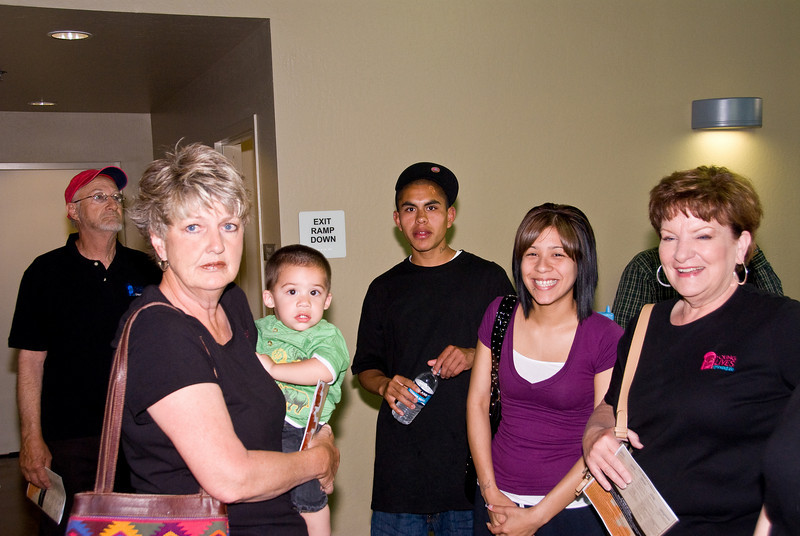 Photos from Community Open House and Ribbon Cutting for 210 4-03-2008.<br /> Young Lives/Young Life mentors.