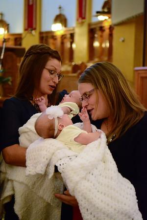 Baptême Érika et Coralie
