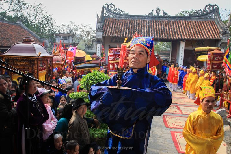 Lễ tế - Lễ hội Cổ Loa - Đông Anh - Hà Nội
