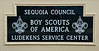 Boy Scouts of America - Ludekens Service Center<br /> Boy Scout office in Visalia, CA  named in honor of the years of service given by Bob & Carole Ludekens.  We thank the Boy Scouts for this gesture of honor and as a family we are proud of what Dad and Mom have done for the Scouts and the youth of our local communities.  Over the many years, these Scouts have grown up to be leaders in their own right where ever they have traveled in life.