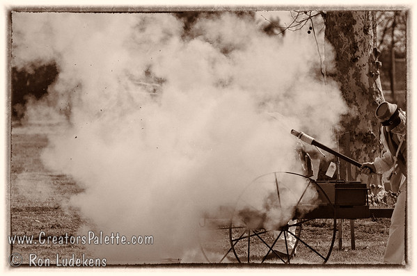 Firing the mortar