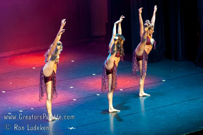 """Night Call"" - DE Dance Company<br /> Tessa Dalke, Stephanie Gonzalez, Allison Phillips<br /> Dancers Edge Recital 6-27-2014"