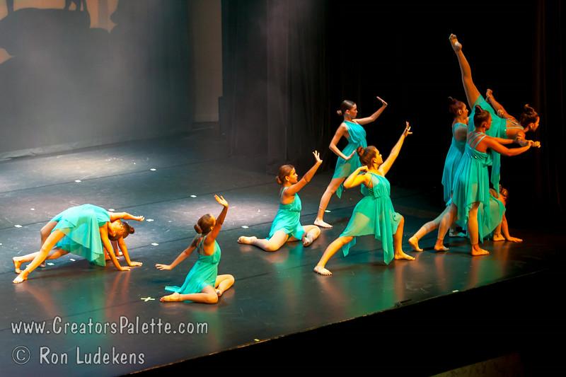 """Wild Horses"" - Lyrical III/IV<br /> Dancers Edge Recital 6-27-2014"