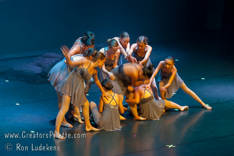 """Sky Fall"" - Teen Lyrical<br /> Dancers Edge Recital 6-27-2014"