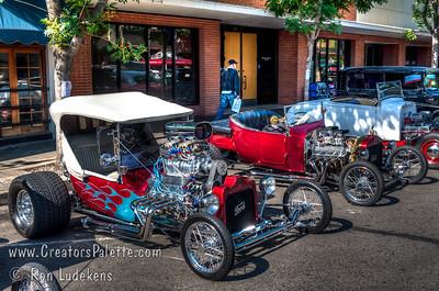 Downtown Visalia Car Show 5-16-2015