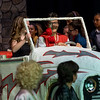 """Photo taken during performance of musical """"Grease"""" by Green Acres Middle School 2-10-2017."""