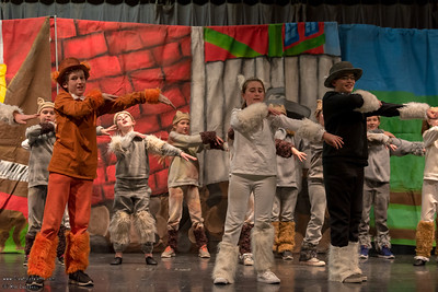 Photo taken at Hurley School Aristocats Play 1-27-2017