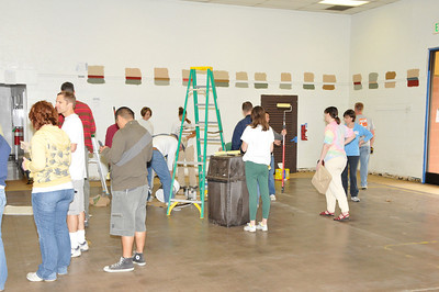 Image from project to paint Recreation Center.