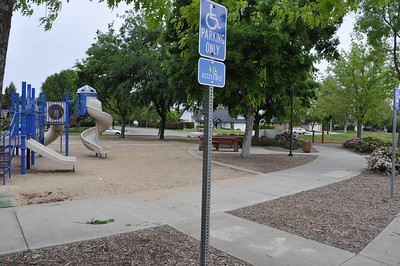 Image from project to paint and fix up Ruiz Park.