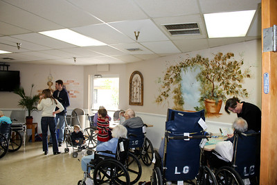 Sing and spend time with seniors at retirement homes