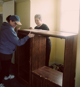 Image from work projects at Womens Shelter