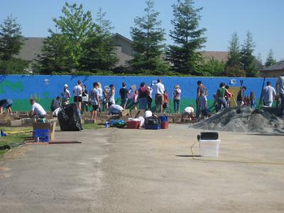 Hurley School Garden - Teresa & George 1030