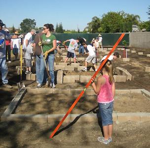 Hurley School Garden - Teresa & George 2001