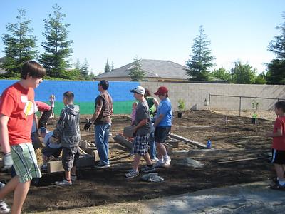 Hurley School Garden - Teresa & George 1004