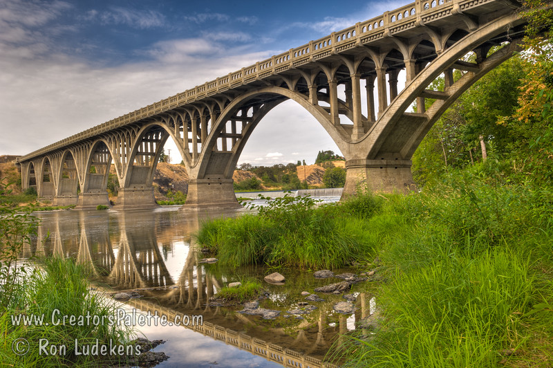 Hwy 99 Bridges over North Umqua River near Winchester, Oregon