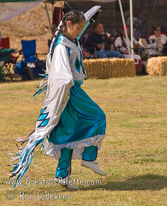 Photo taken at Tule River 2007 Pow Wow on September 22, 2007 at McCarthy Ranch, Porterville, CA. Weliyah Baga - contestant in Tule River Pow Wow Junior Princess Contest