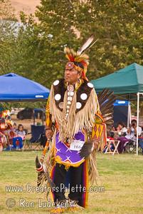 Photo taken at Tule River 2007 Pow Wow on September 22, 2007 at McCarthy Ranch, Porterville, CA. #168 Ben Hale - Eagle Spirit Dancer