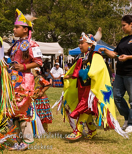 Photo taken at Tule River 2007 Pow Wow on September 22, 2007 at McCarthy Ranch, Porterville, CA. Grand Entrance Parade.