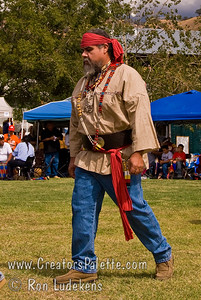 Photo taken at Tule River 2007 Pow Wow on September 22, 2007 at McCarthy Ranch, Porterville, CA. Grand Entrance Parade