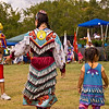 Photo taken at Tule River 2007 Pow Wow on September 22, 2007 at McCarthy Ranch, Porterville, CA.   <br /> Jingle Dancers