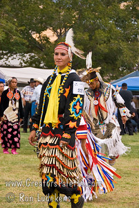Photo taken at Tule River 2007 Pow Wow on September 22, 2007 at McCarthy Ranch, Porterville, CA.  Genevieve Lemaster #223 - Jingle Dancer - won first place.