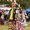 Photo taken at Tule River 2007 Pow Wow on September 22, 2007 at McCarthy Ranch, Porterville, CA. <br /> Genevieve Lemaster #223 - Jingle Dancer - won first place.