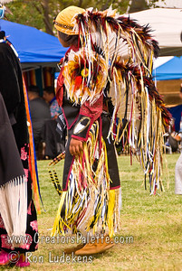 Photo taken at Tule River 2007 Pow Wow on September 22, 2007 at McCarthy Ranch, Porterville, CA. Falcon Atwell - Head Junior Boy