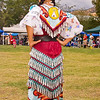 Photo taken at Tule River 2007 Pow Wow on September 22, 2007 at McCarthy Ranch, Porterville, CA. <br /> Jingle Dancer