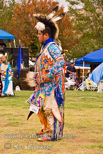 Photo taken at Tule River 2007 Pow Wow on September 22, 2007 at McCarthy Ranch, Porterville, CA. #143 Chris Dinehdeal - Men's Southern Traditional - 1st place