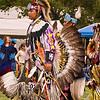 Photo taken at Tule River 2007 Pow Wow on September 22, 2007 at McCarthy Ranch, Porterville, CA.  <br /> #102 Gordon Williams - Head Teen Boy