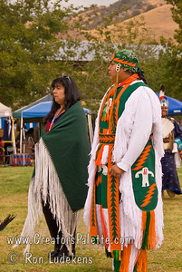 Photo taken at Tule River 2007 Pow Wow on September 22, 2007 at McCarthy Ranch, Porterville, CA.  Johnny & Sonne Nieto