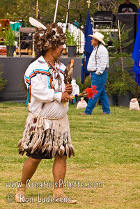Photo taken at Tule River 2007 Pow Wow on September 22, 2007 at McCarthy Ranch, Porterville, CA. J.R. Manuel - Whipman