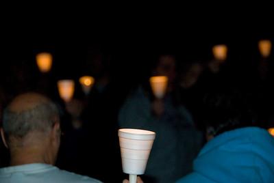 Photos from Washington School Neighborhood Concerned Citizens Candlelight Prayer Walk 3-31-2008