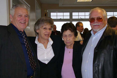 Uncle Bob's wife, Helen, joined by her two brothers and Bob's Sister, Ma Tante Edmay (Michaud) Tardiff