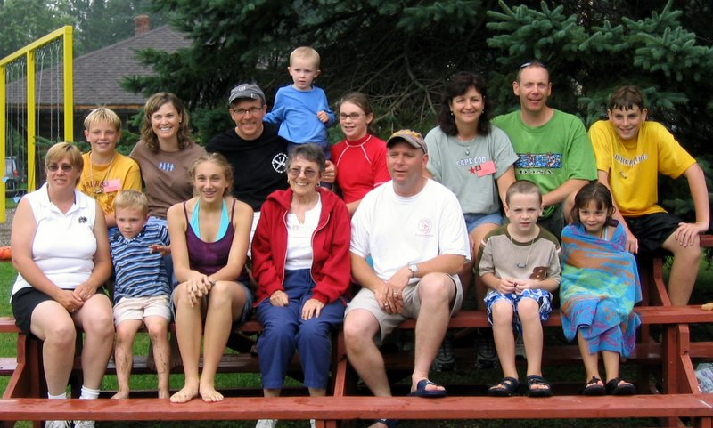 Aunt Martine (Ouellette) Hogan and her family.
