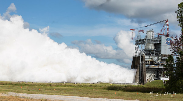 RS-25 Rocket Engine Test