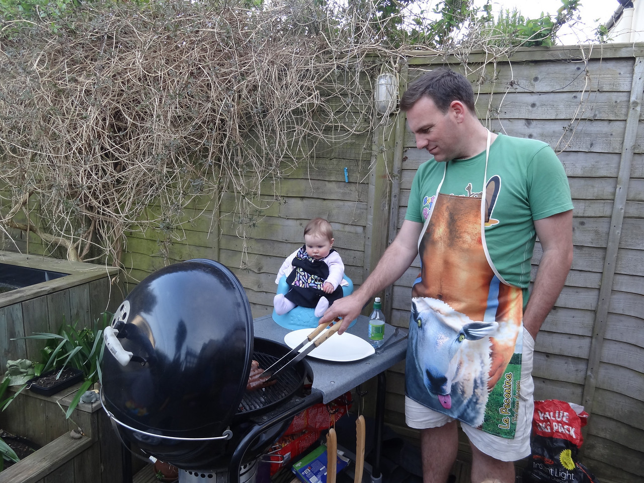 """""""Yeah, I know what you mean mate. Those Aussies don't know a thing about how to do a BBQ."""""""