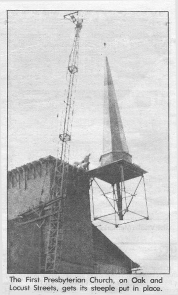 FPC Steeple Installation