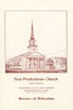 FPC Dedication new Church 1958