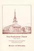 FPC Dedication new Church 1958