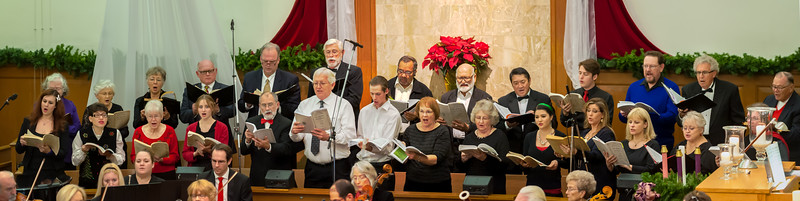 Photo from Messiah Sing-A-Long at First Pres Church 12-13-14