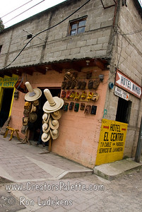 Guatemala Mission Trip - Day 2 -  Saturday, November 10, 2007 Some tall hats seen along the road to Panajachel.