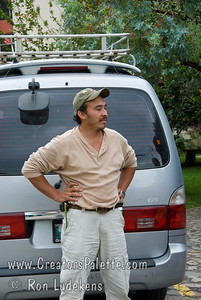 Guatemala Mission Trip - Day 2 -  Saturday, November 10, 2007 Giovanni - our driver and his borrowed van.
