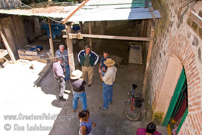 Guatemala Mission Trip - Day 3 -  Sunday, November 11, 2007 More photos of the inner courtyard.  It is very likely the next water system will be installed here somewhere in June.