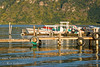 Guatemala Mission Trip - Day 3 -  Sunday, November 11, 2007<br /> Early Morning along shore of Lake Atitlan in Panajachel.   Local marina.