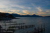 Guatemala Mission Trip - Day 3 -  Sunday, November 11, 2007<br /> Sunrise along shore of Lake Atitlan in Panajachel.
