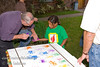 Guatemala Mission Trip - Day 3 -  Sunday, November 11, 2007<br /> One of the highlights of the week was playing with the orphan children.  They are incredible and grab your heart.   All the children painted an image of their hand with their name on fabric. All the children painted an image of their hand with their name on fabric.