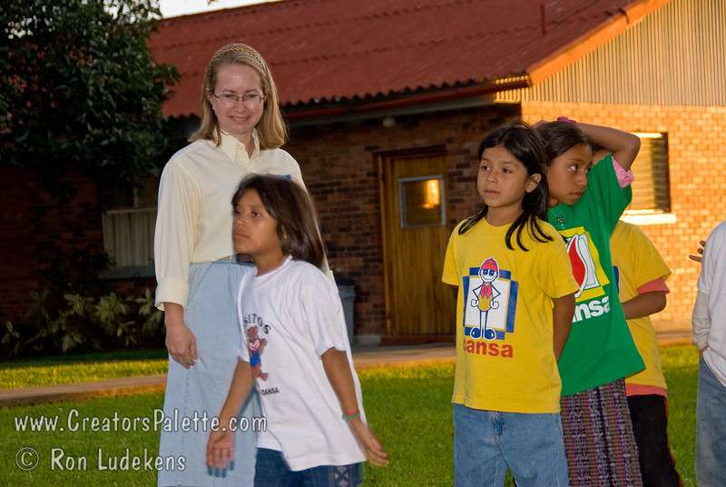Guatemala Mission Trip - Day 3 -  Sunday, November 11, 2007<br /> One of the highlights of the week was playing with the orphan children.  They are incredible and grab your heart.    Children lined up quietly to receive a T-shirt and stuffed animal make by VBC kids last June.