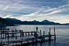 Guatemala Mission Trip - Day 4 - Monday, November 12, 2007<br /> Sunrise and early morning photo of Lake Atitlan at Panajachel.